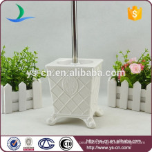 YSb50070-01-tbh Royal elegance design ceramic bath toilet brush holder